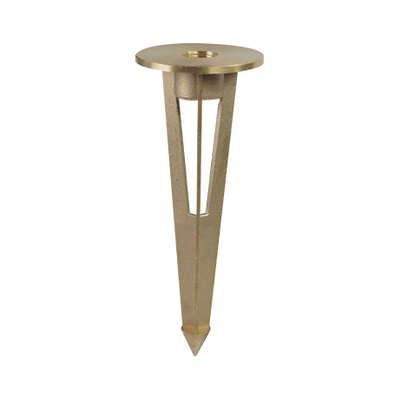 LED Story Brass Ground Stake